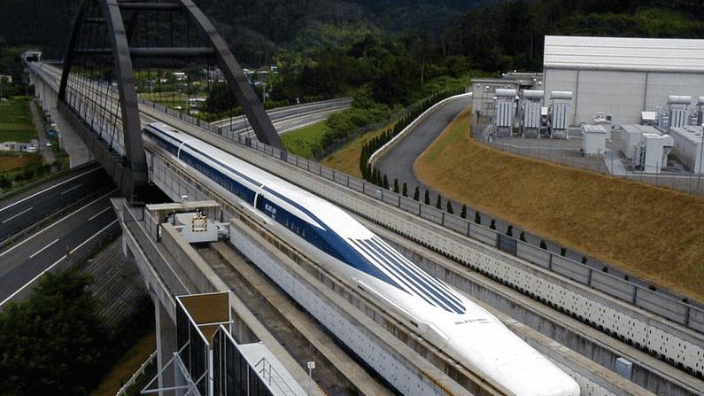 Japanischer Magnetzug rast mit Tempo 603 zum Weltrekord