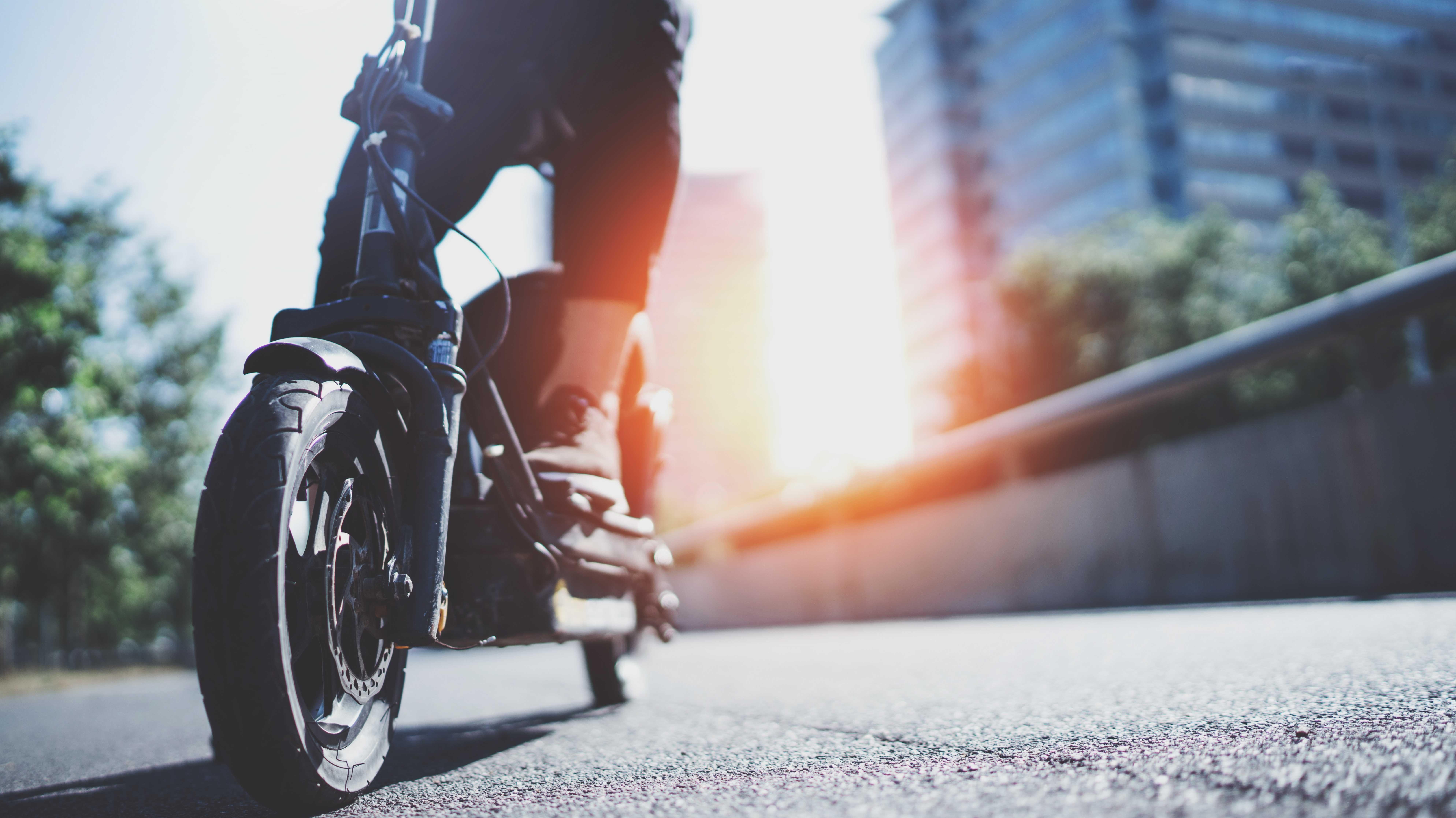 Experten sehen hohes Verletzungsrisiko beim E-Scooterfahren