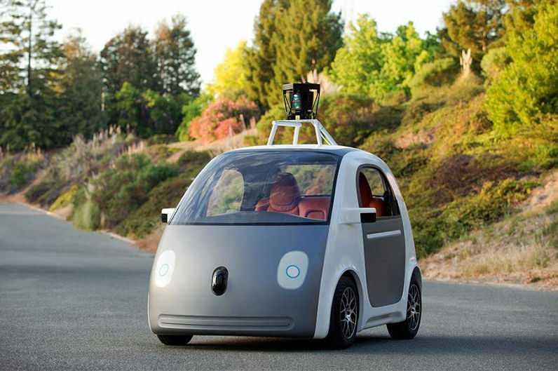 Wie der Prototyp von Googles eigenem selbstfahrenden Auto aussieht...