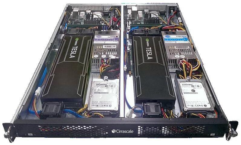 Cirrascale RM1005D ARM64 X-Gene Tesla K20