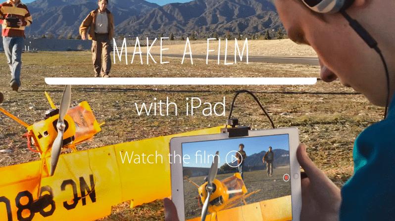 Zur Oscar-Verleihung: Apple bewirbt iPad als Film-Kamera