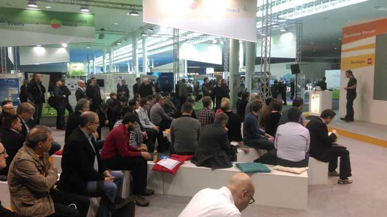 heise Developer World auf der CeBIT, vierter Tag