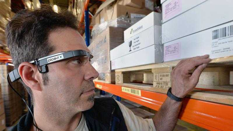 Logistik über Datenbrillen mit Picavi