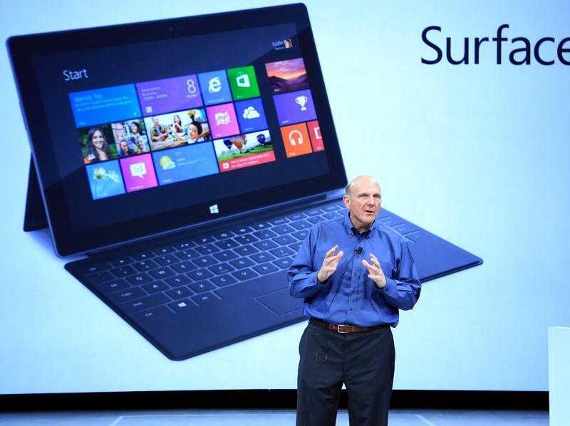 Neuer Tablet-Computer von Microsoft.