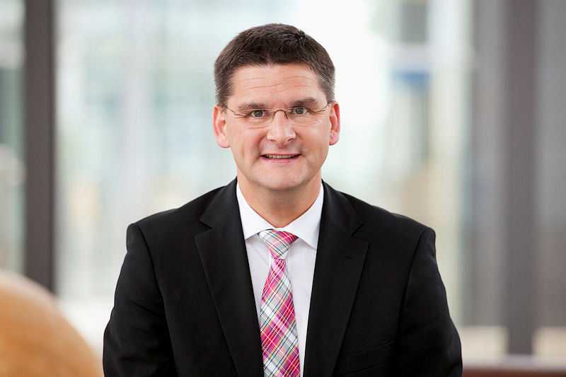 CeBIT-Chef Oliver Frese sieht die CeBIT mit der neuen Ausrichtung auf einem guten Weg.