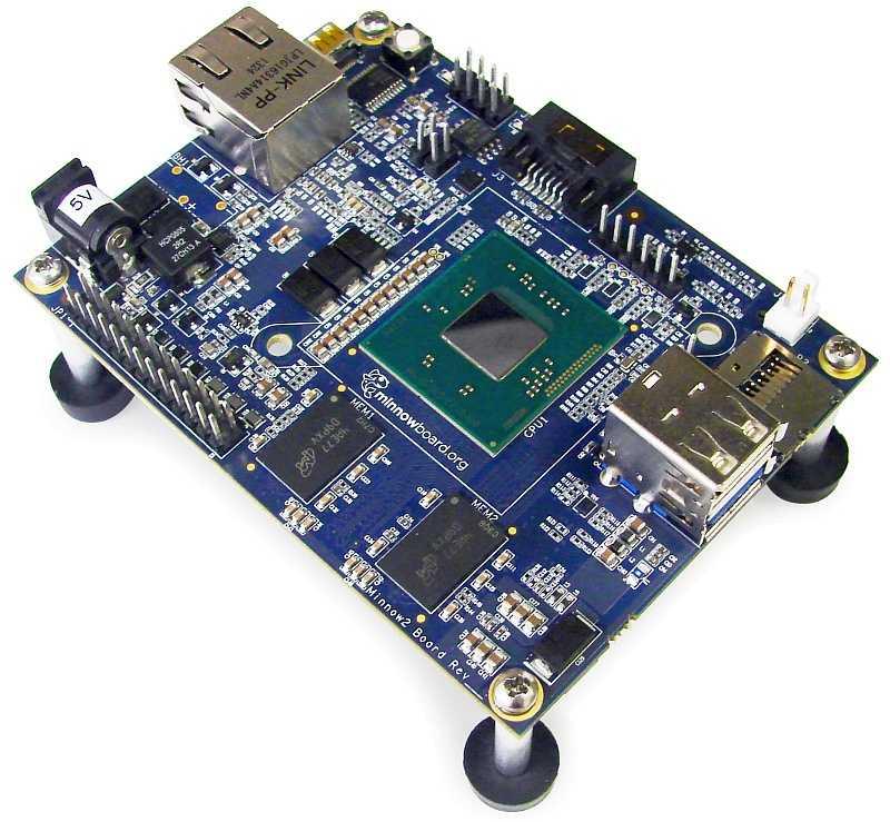 MinnowBoard MAX mit Atom E3815