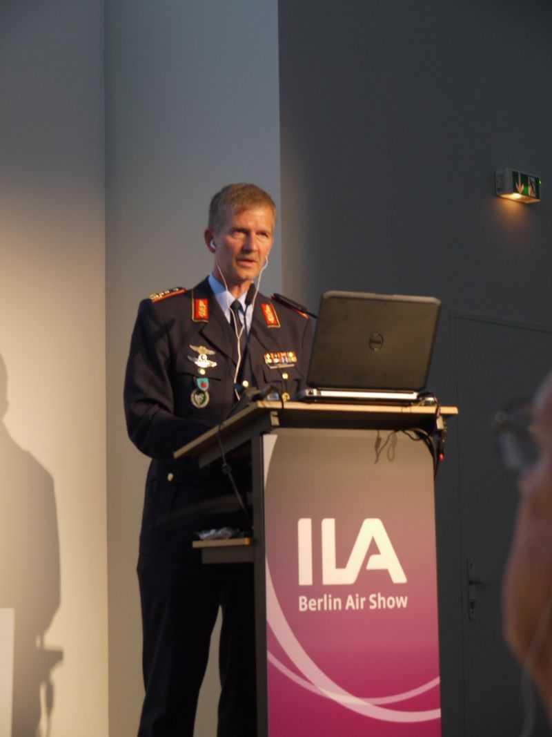 Generalleutnant Martin Schelleis, Kommandeur des Kommandos Einsatzverbände der Luftwaffe.