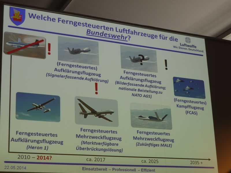 Die Bundeswehr verlangt nach Drohnen.