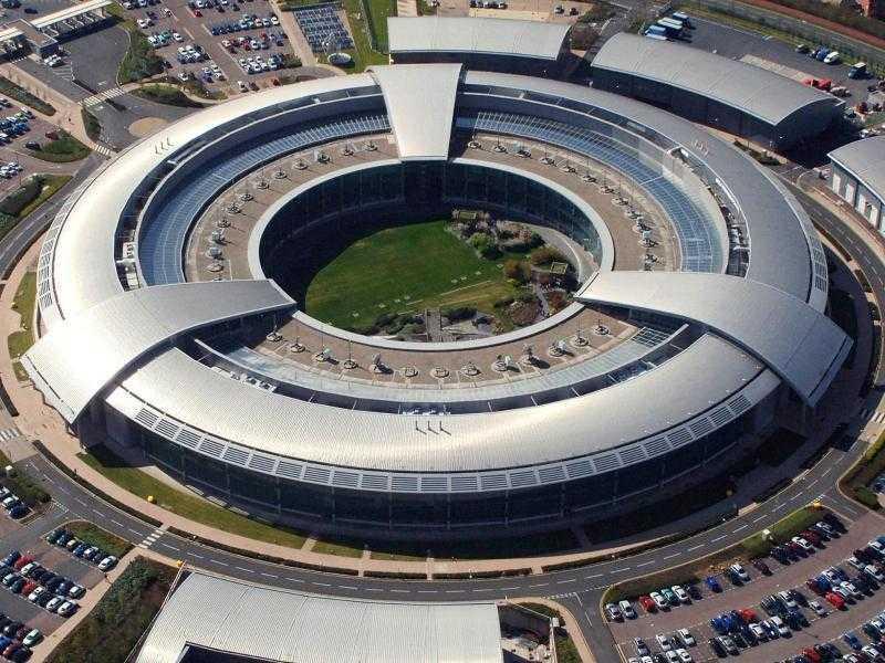 Die Zentrale des britischen Geheimdienstes GCHQ im westenglischen Cheltenham