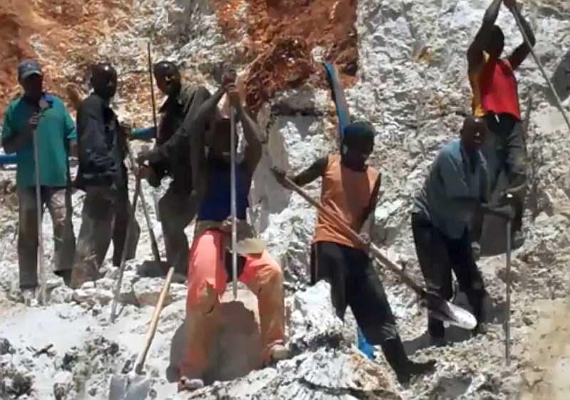 Bergbau in Afrika (Intel-Video)