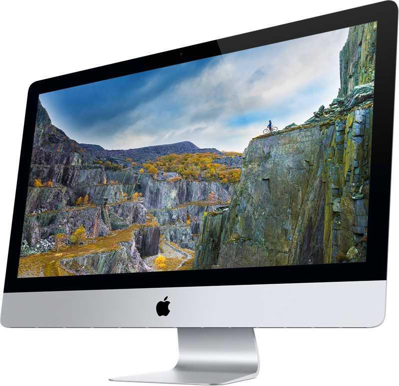 Das dünne Gehäuse des neuen iMac bleibt unverändert.