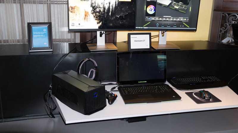 CES: Erweiterbare Gaming-Notebooks von Alienware