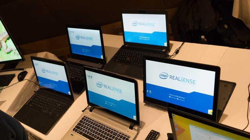 CES: Notebooks und All-in-One-PCs mit RealSense-3D-Kamera