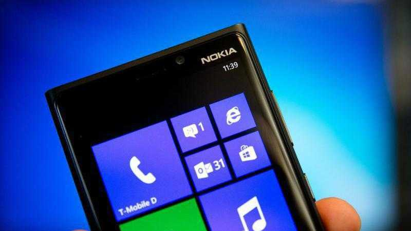 Nokia-Handy mit Windows Phone