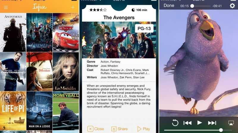 iOS-Mediaplayer Infuse unterstützt Google Cast
