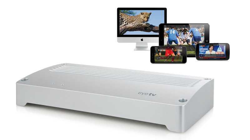 EyeTV Netstream 4C streamt Kabel-TV an Tablets und Smartphones
