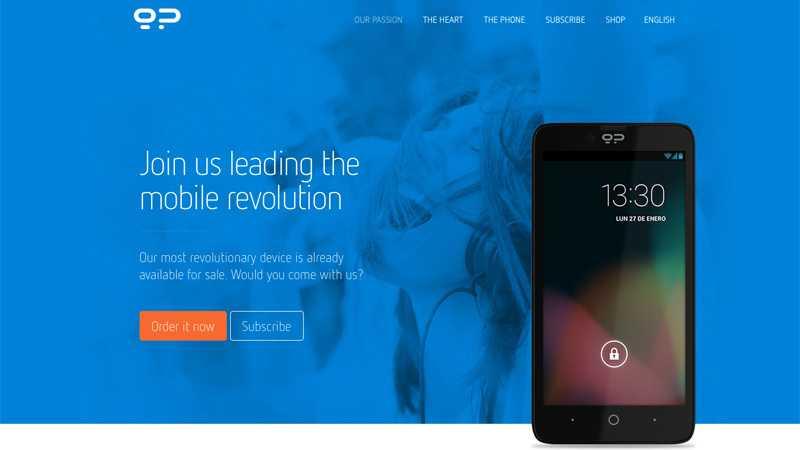 Website Blackphone