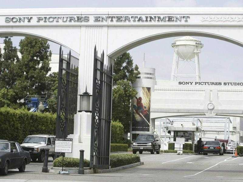 Einfahrt zu Sony Pictures Entertainment