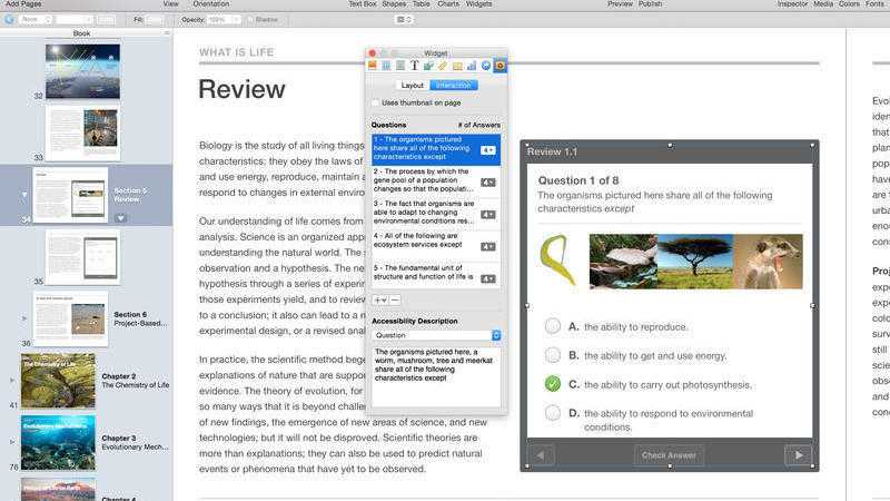 Apple passt iBooks Author an OS X 10.11 an