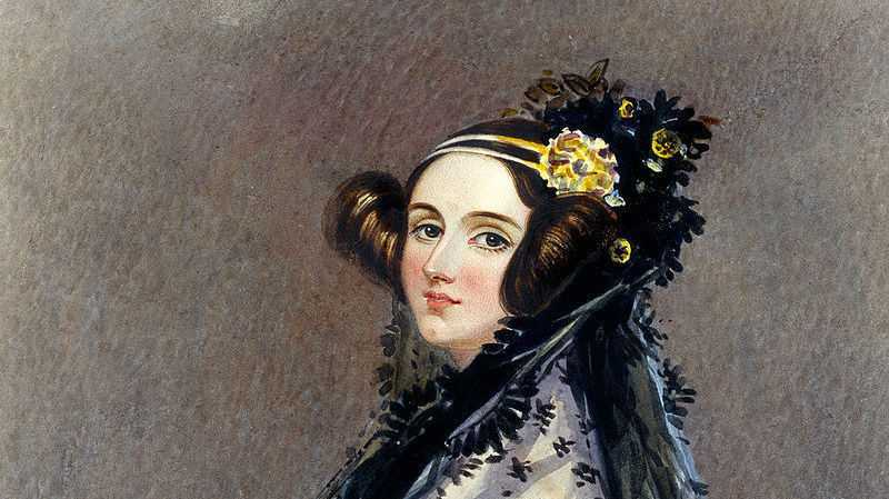Ada Lovelace Porträt - Alfred Edward Chalon