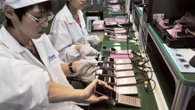 Handy-Produktion
