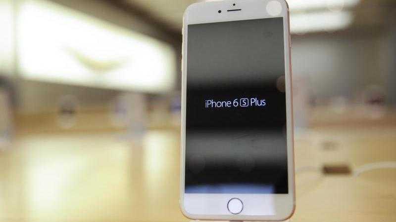 Ein iPhone 6s Plus.