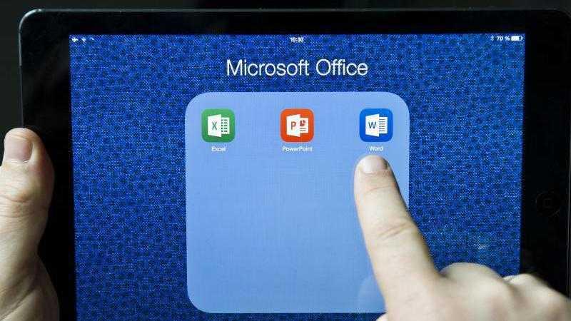 Office auf dem iPad