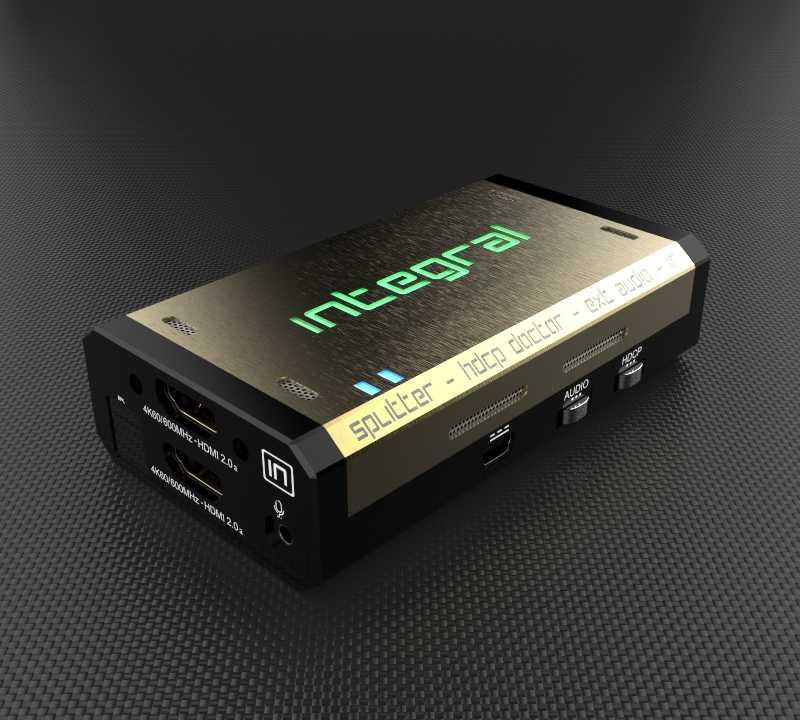 """Der """"Integral 4K60"""" ermöglicht es, 4K-Zuspieler mit dem neuesten HDCP-Kopierschutz auch an älteren TVs und AV-Receivern zu betreiben."""