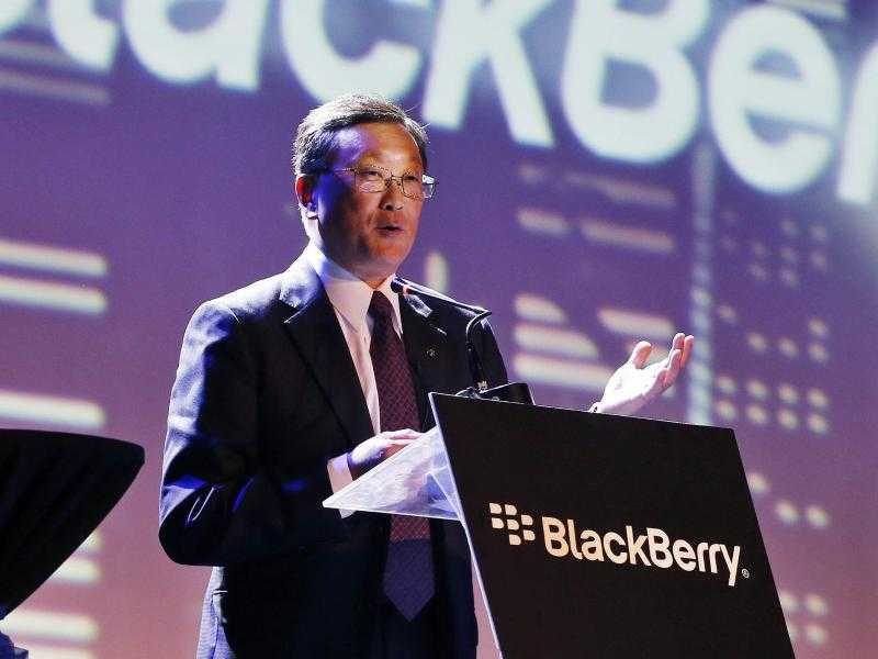 Blackberry-Chef John Chen