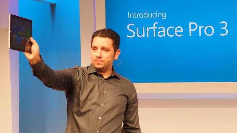 Surface-Tablet von Microsoft