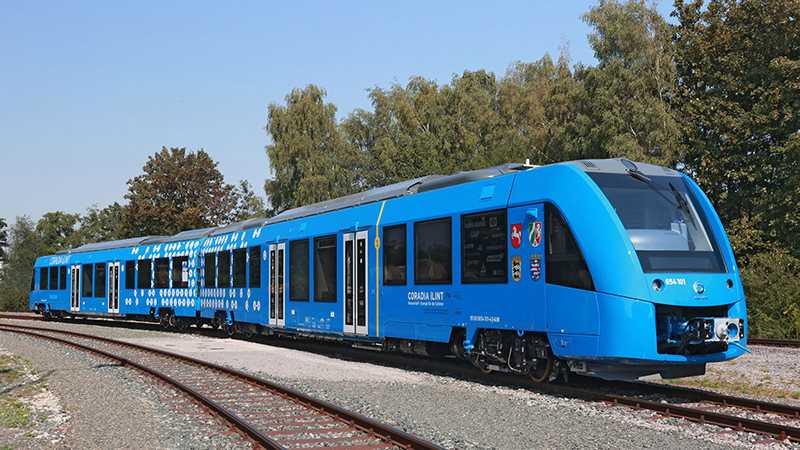 Brennstoffzellen-Züge sollen im deutschen Nahverkehr fahren