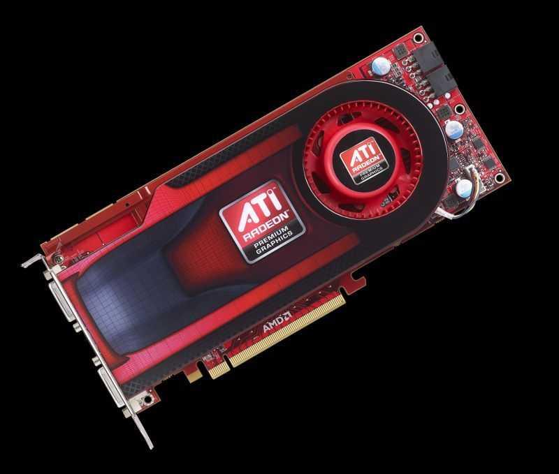 Die Radeon HD 4890 ist 24 Zentimeter lang und besitzt 2 sechspolige Stromanschlüsse.