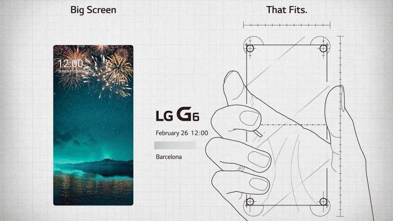 LG G6: Flaggschiff bekommt kein 4K-Display