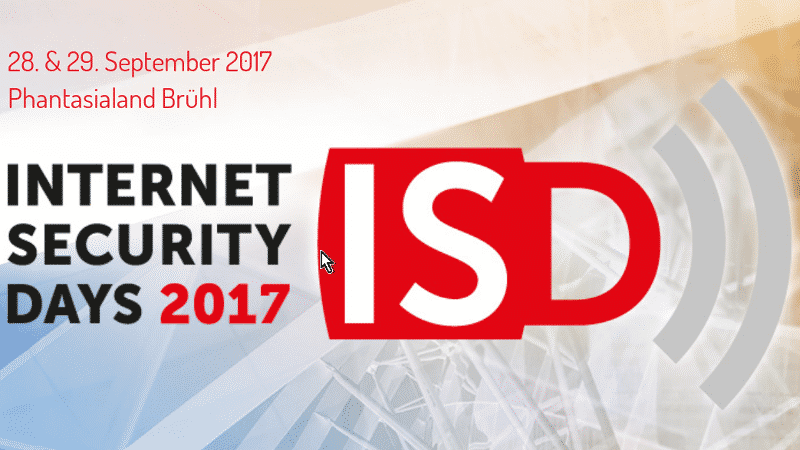 Call for Papers für die Internet Security Days 2017