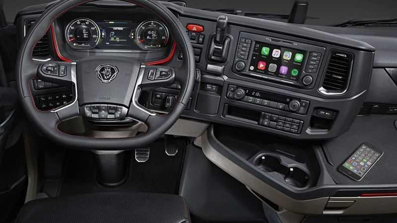 CarPlay für Lastkraftwagen