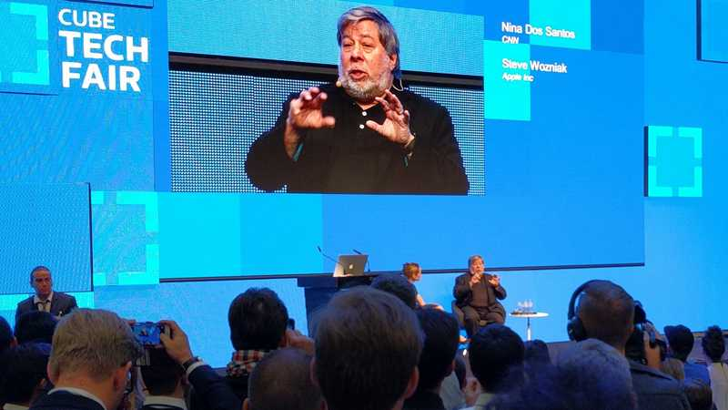 Cube Tech Fair: Zum Abschluss rockt Steve Wozniak das Haus
