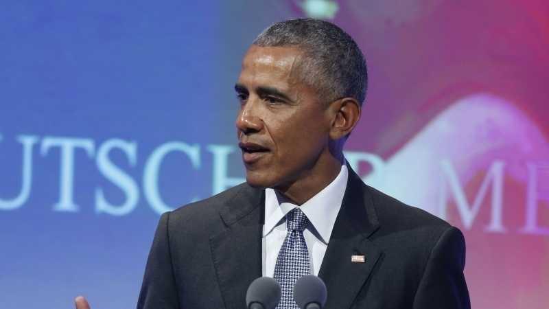 Medienpreis-Träger Obama ruft zum Kampf gegen Propaganda und Fake-News auf