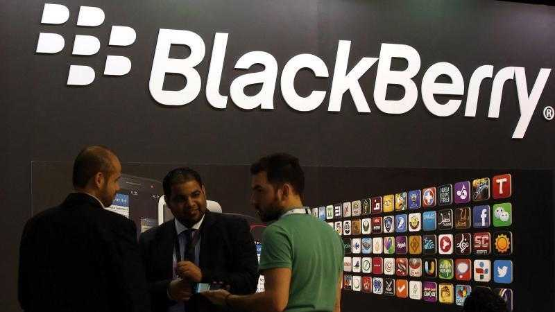 Blackberry-Messestand
