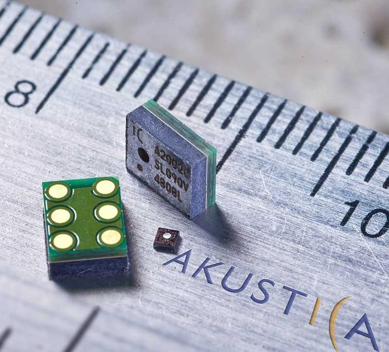 MEMS-Mikrofon der Bosch-Tochter Akustica