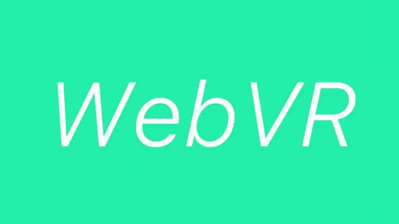Apple macht bei WebVR mit