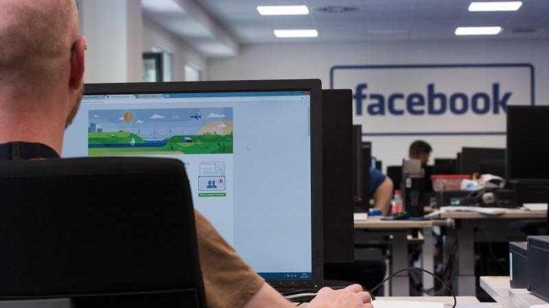 Facebook-Löschzentrum