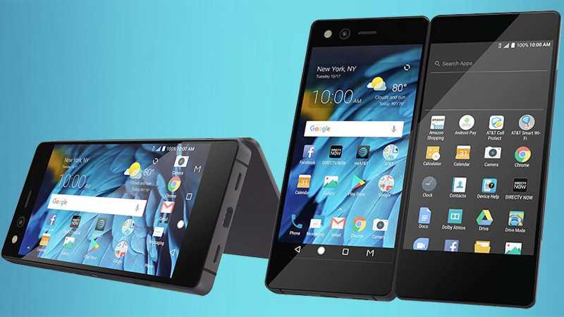 ZTE Axon M: Android-Smartphone mit Klapp-Displays