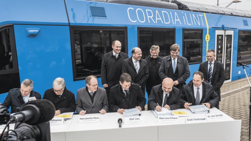 Brennstoffzellen-Züge sollen Diesel-Loks in Niedersachsen ersetzen