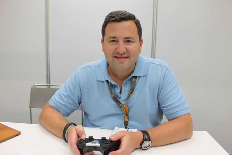 Mark Rein, Mitbegründer von Epic und zusammen mit Tim Sweeney Kopf hinter der Unreal Engine, die etwa von Fortnite und Playerunknown's Battlegrounds verwendet wird.