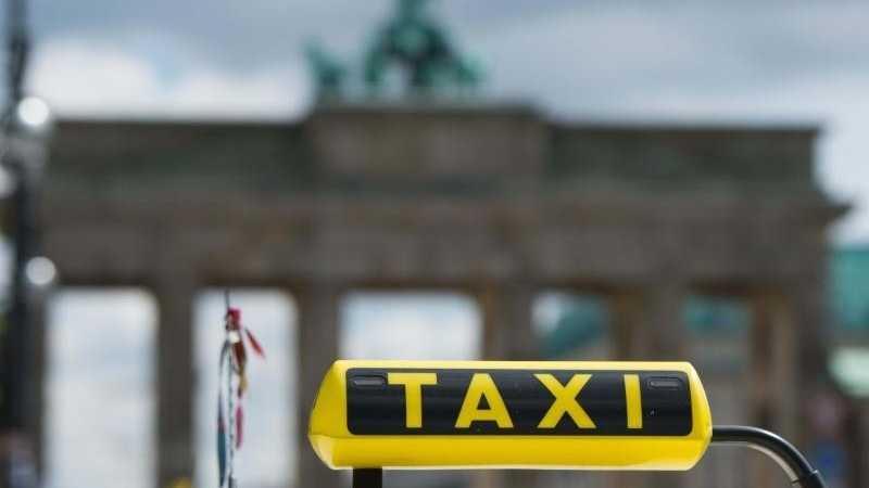Taxifahrer in Berlin