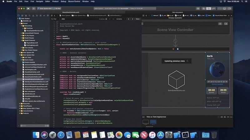 macOS 10.14: Apple leakt Nachtmodus und neue App