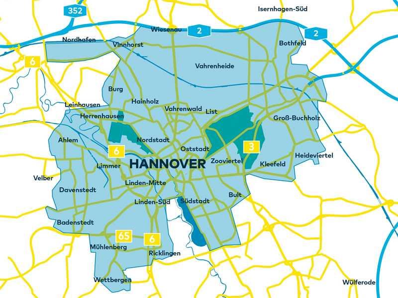 Moia/Open Street Map