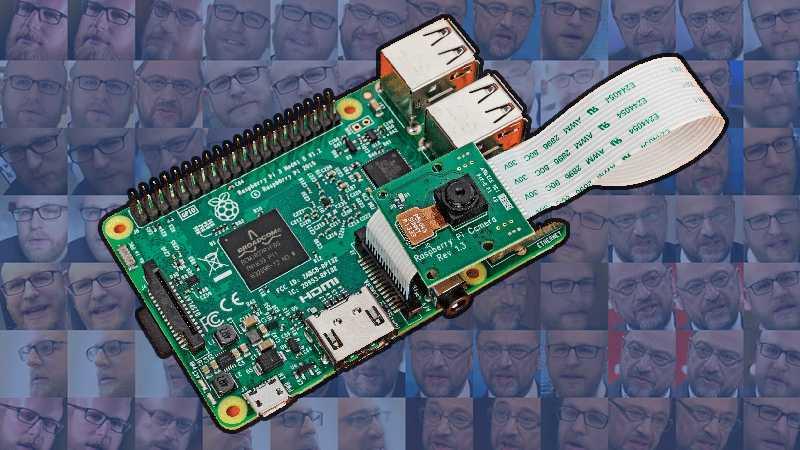 Raspberry Pi erkennt Gesichter
