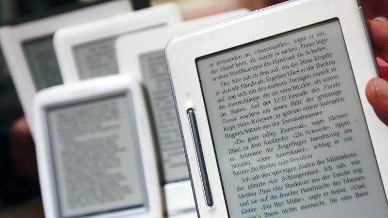 EU-Finanzminister beschließen niedrigere Steuern für E-Books