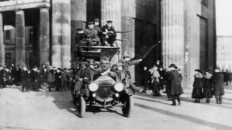 Missing Link: Vor 100 Jahren begann die deutsche Revolution